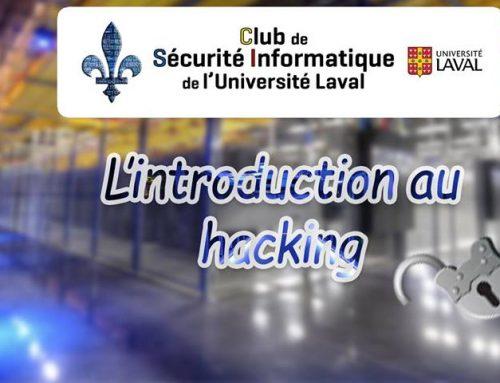L'introduction au Hacking