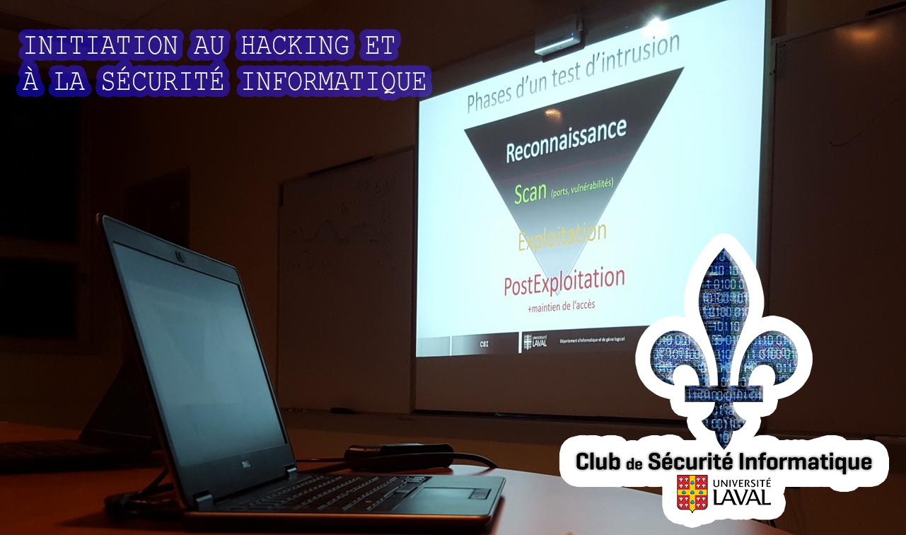 Initiation au hacking et à la sécurité informatique